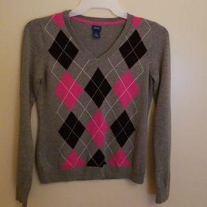 Women's IZOD Long Sleeve V-neck Sweater